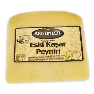 Akgünler Trakya Eski Koyun Kaşar - Trakya Eski Kaşar Peyniri